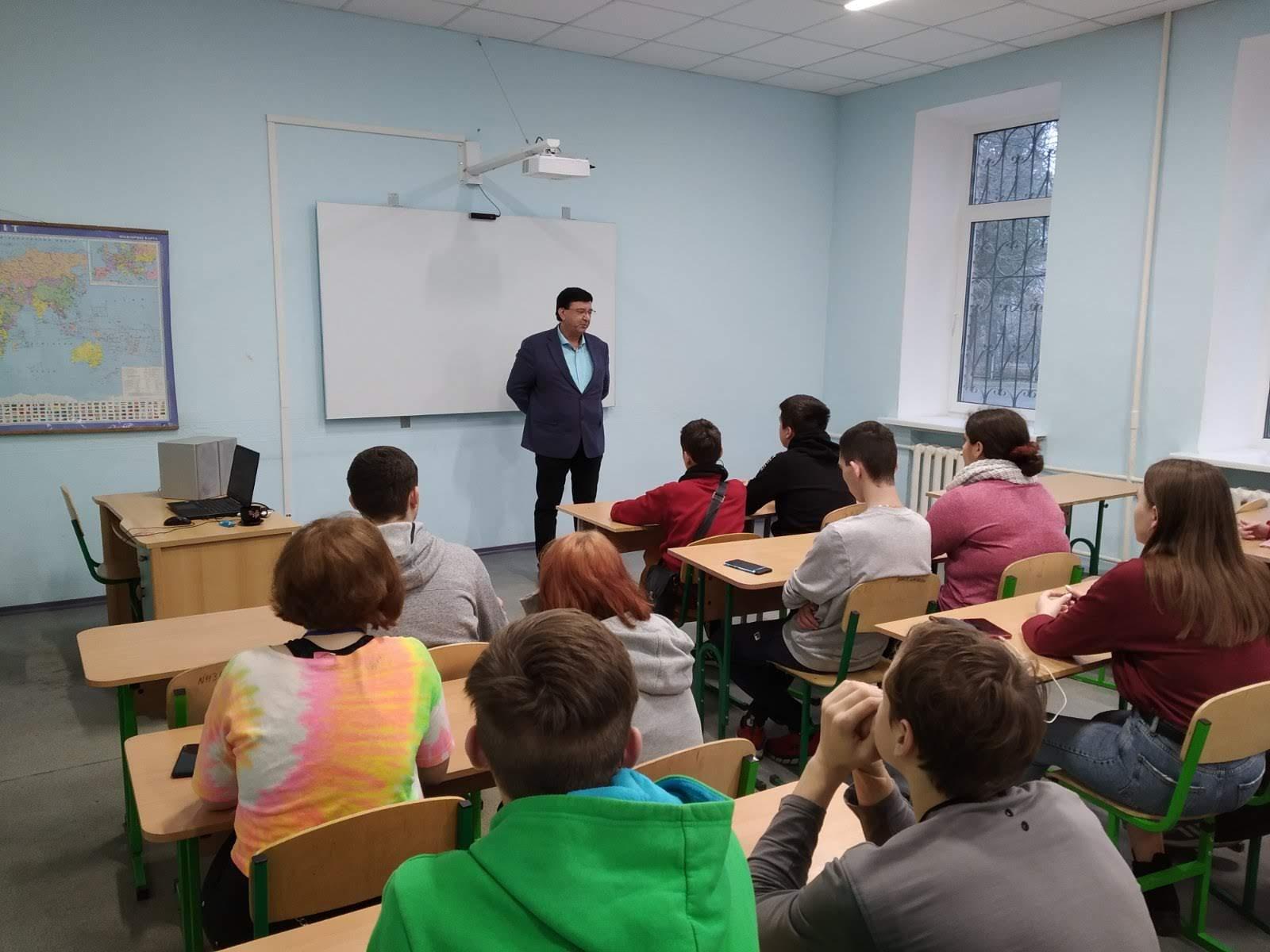 Зустріч із правозахисником Е.Багіровим